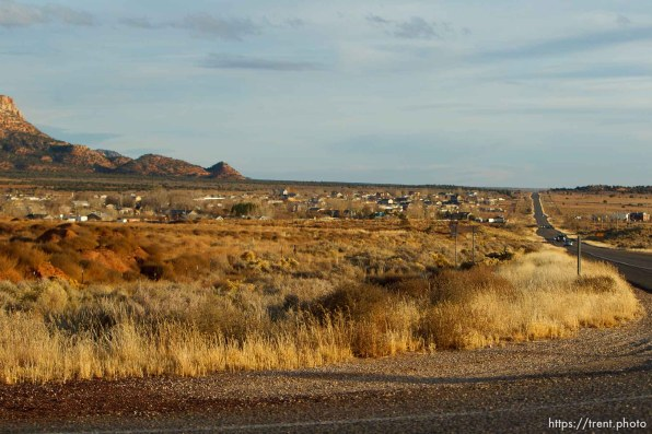 highway and colorado city, Thursday November 29, 2012.