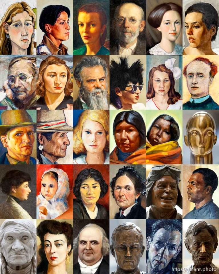 Capitol Faces