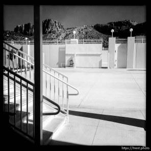 Trent Nelson | The Salt Lake Tribune inside warren jeffs compound