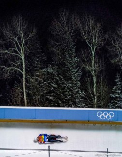 Trent Nelson   The Salt Lake Tribune Chris Mazdzer (USA), competes in the Viessmann Luge World Cup at the Utah Olympic Park, Saturday December 12, 2015.