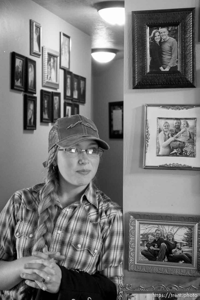 Trent Nelson | The Salt Lake Tribune Tean Finicum at her home in Cane Beds, Saturday May 21, 2016.