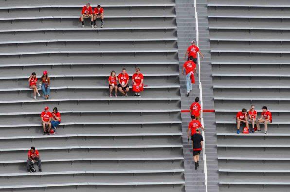 Trent Nelson | The Salt Lake Tribune Fans make their way into Rice-Eccles Stadium as the University of Utah Utes prepare to host the Southern Utah University Thunderbirds, NCAA football in Salt Lake City, Thursday September 1, 2016.
