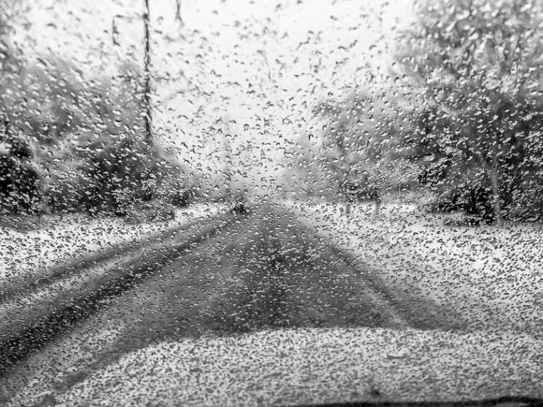 driving, snow, Saturday January 21, 2017.