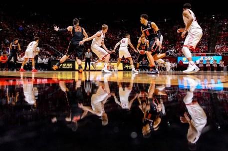 Trent Nelson   The Salt Lake Tribune as the University of Utah hosts Oregon State, NCAA basketball at the Huntsman Center in Salt Lake City, Saturday January 28, 2017.