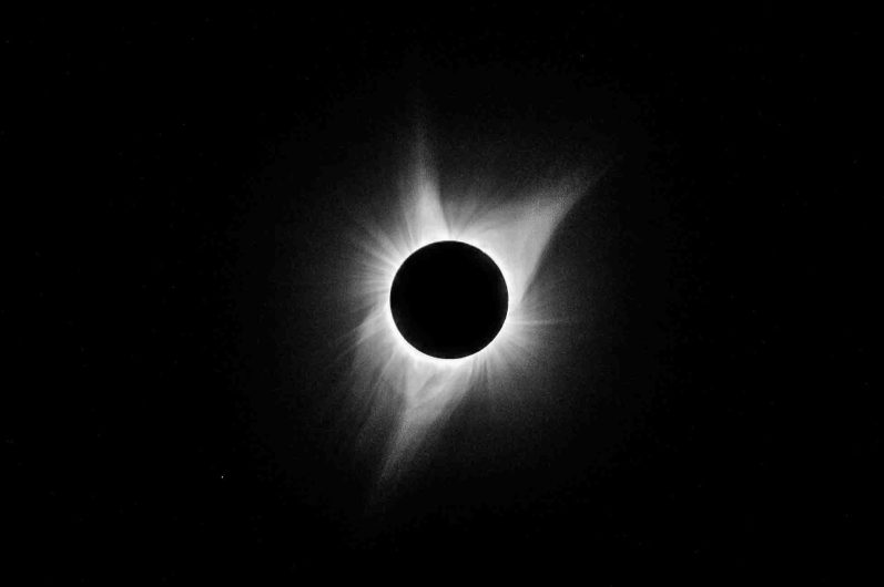 Solar eclipse Monday August 21, 2017.