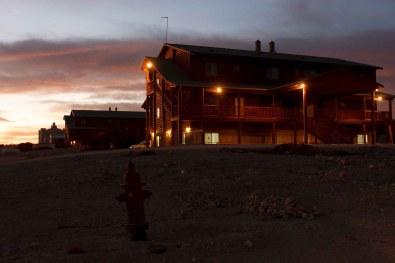 Eldorado - homes at the YFZ Ranch. Wednesday, January 7, 2009.; 01.07.2009