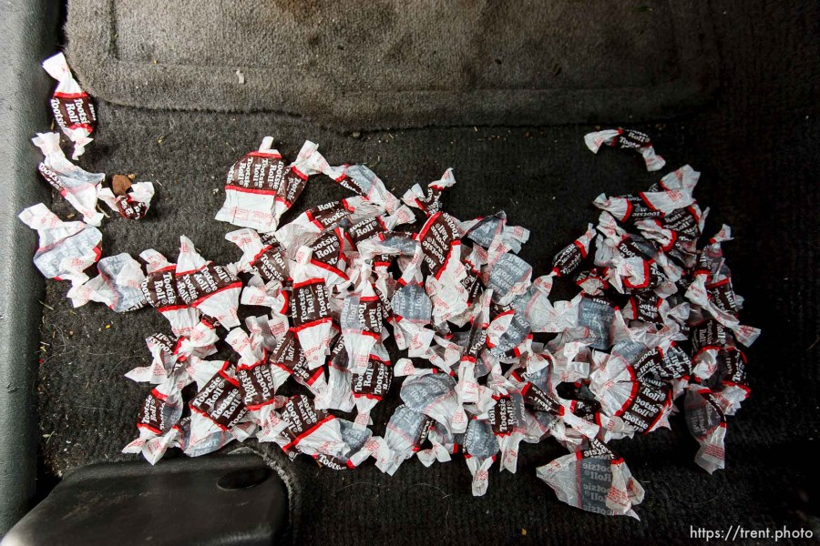 tootsie roll wrappers