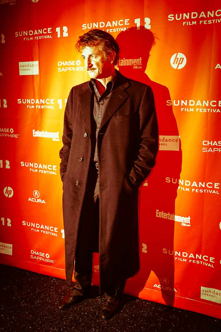 "Sean Penn at the premiere of the film ""This Must Be The Place"" at the theater at The MARC Theatre, as part of the 2012 Sundance Film Festival in Park City, Utah"