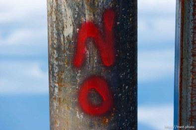 Alpine - no sign Tuesday, February 3, 2009.