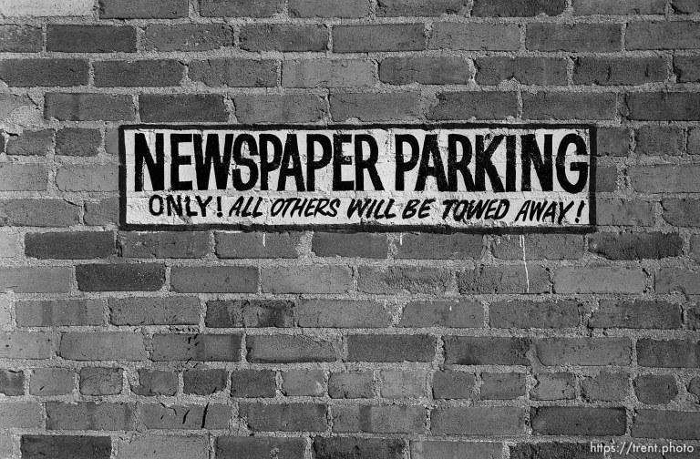 Newspaper Parking