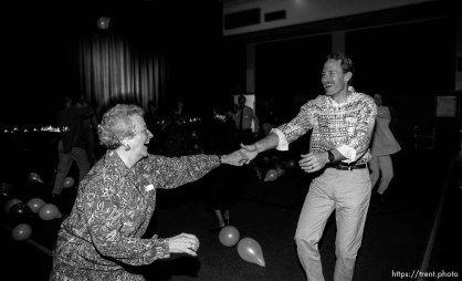 Kyle Matthews dancing at church dance