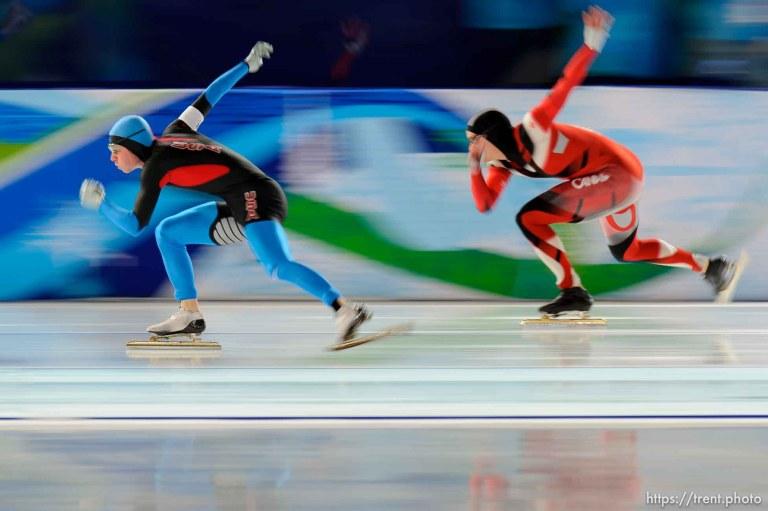 500 Meter Speed Skating