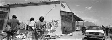 Street scene in the Langa township