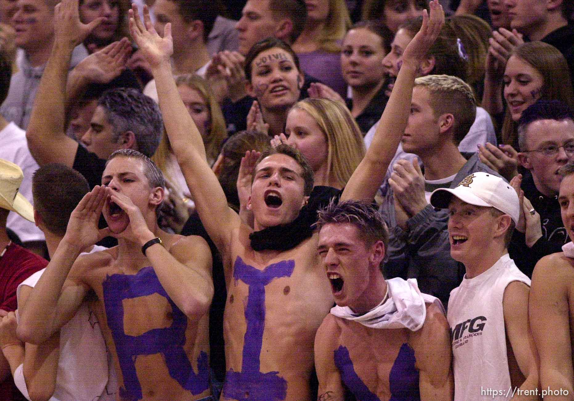 Riverton fans.