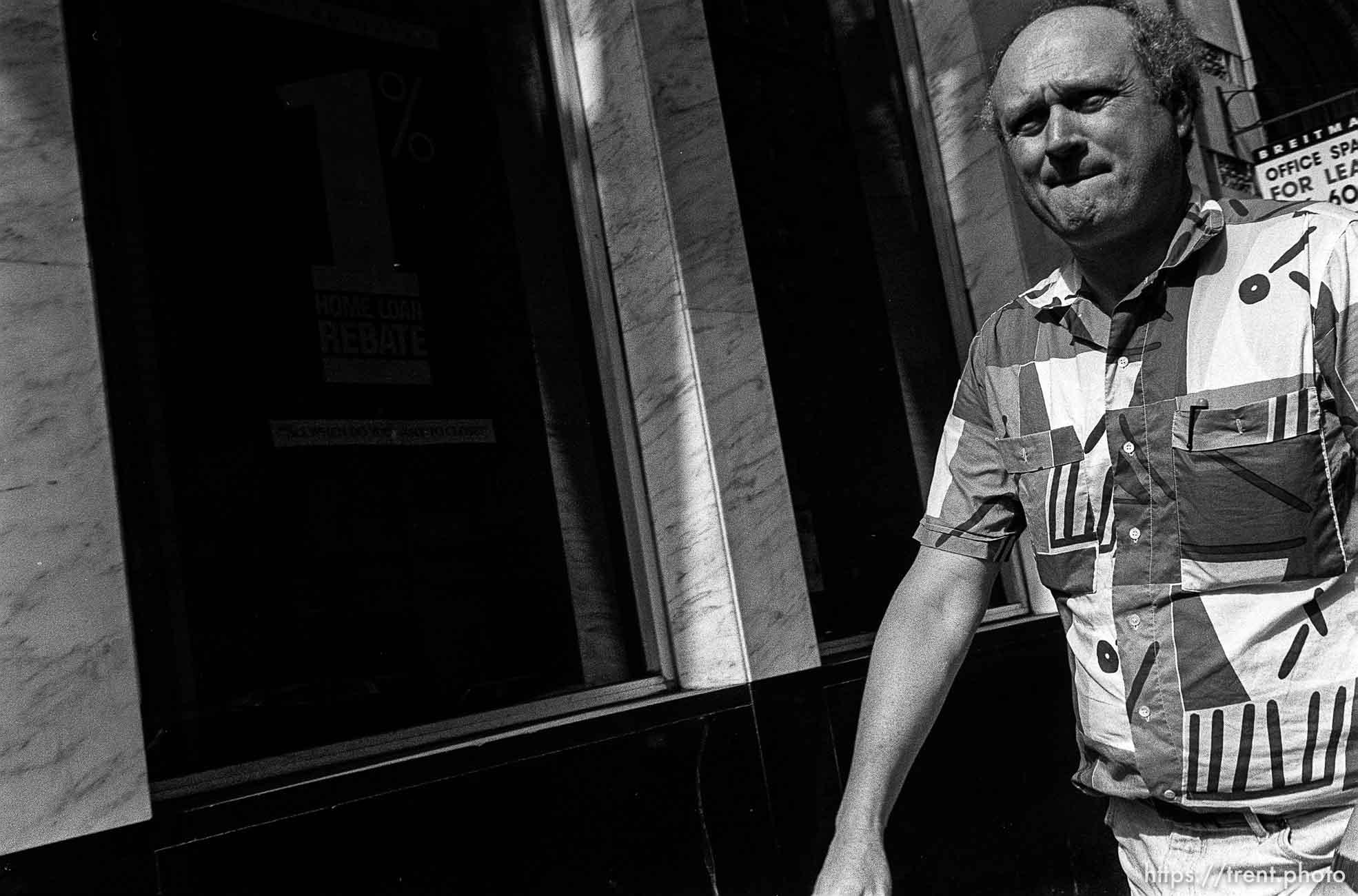 Man. Leica hip shots on the street.