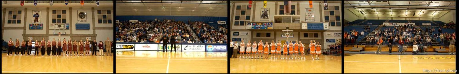 Mountain View vs. Timpview girls high school basketball state championship game at Salt Lake Community College
