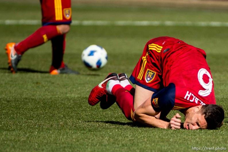 Real Salt Lake midfielder Damir Kreilach (6).