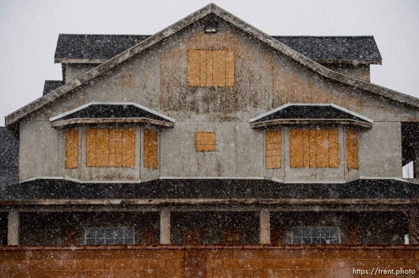 homes, Hildale/Colorado City, Thursday March 15, 2018.