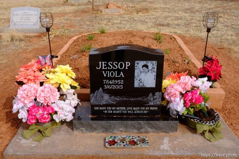 Viola Jessop, 1952-2015. Isaac W. Carling Memorial Park, Colorado City, Friday March 16, 2018.