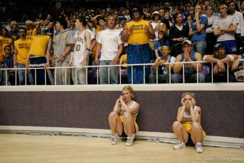 Box Elder vs. Orem, 4A state high school basketball semifinals Friday at Weber State University, Ogden. Box Elder wins. fans