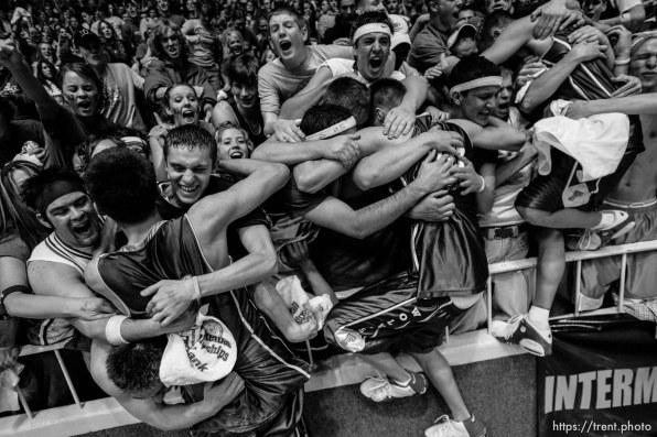 Fremont vs. West Jordan, 5A state high school basketball championship game Saturday at Weber State University, Ogden. Fremont wins. fans