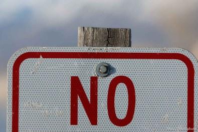 No sign.