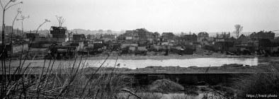 Destruction in the South Mitrovica