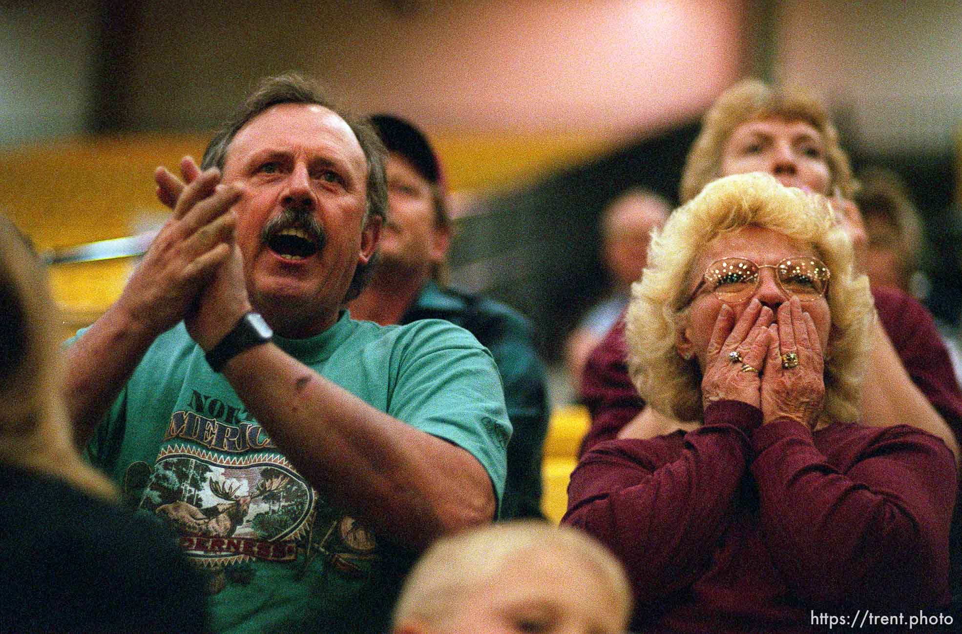 Fans. North Sevier Wolves state basketball championship essay.