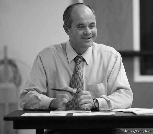 Kevin Barlow. Colorado City council meeting