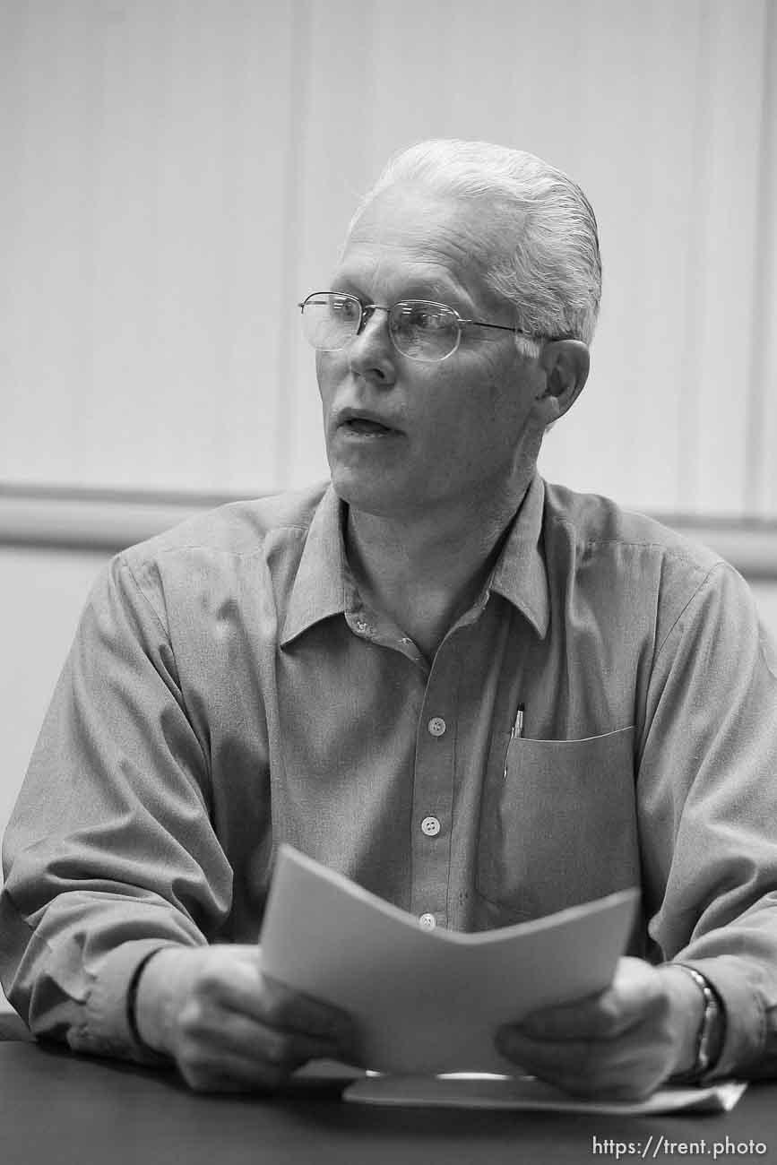 Donald Richter. Colorado City council meeting