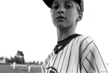 Player at Yankees game.