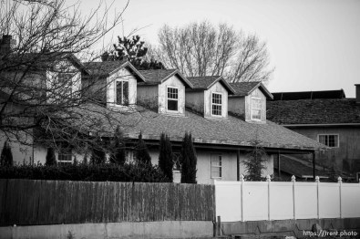 Trent Nelson | The Salt Lake Tribune home and wall, Thursday February 25, 2016.