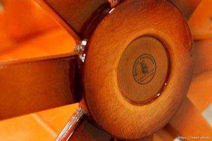 Eldorado - wood furniture at the YFZ Ranch. Wednesday, January 7, 2009.; 01.07.2009