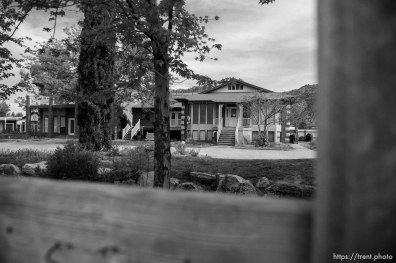 Trent Nelson | The Salt Lake Tribune An empty home facing eviction in Colorado City, AZ, Tuesday May 9, 2017.