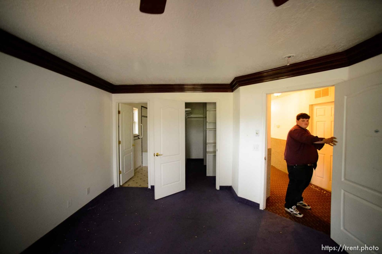 Trent Nelson   The Salt Lake Tribune Marvin Darger in the home he lived in, just before the UEP evicted his family from property at 555 N Lauritzen Ave, Colorado City, AZ, Wednesday May 10, 2017.