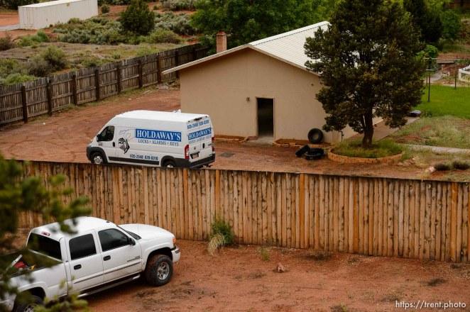 Trent Nelson | The Salt Lake Tribune UEP eviction of property at 560 E Johnson Ave, Colorado City, AZ, Wednesday May 10, 2017.