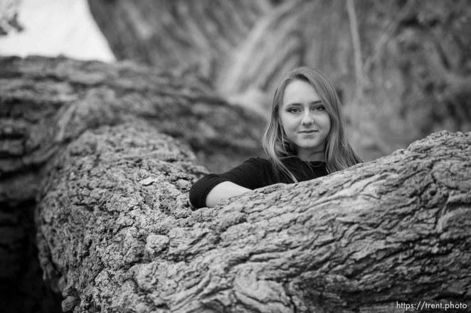 Jessica Barlow at Cottonwood Park in Colorado City, Ariz., Saturday December 16, 2017.