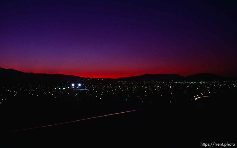 Night view of San Ramon