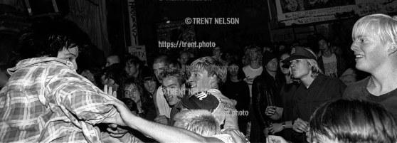 Adolescents at Gilman Street.