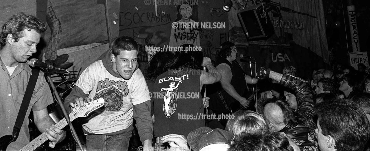 Adolescents at Gilman Street.