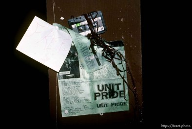 Trashed Unit Pride demo tape.