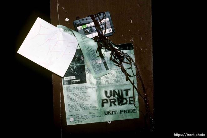 Trashed Unit Pride demo tape.