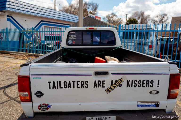 Tailgaters are ass kissers!