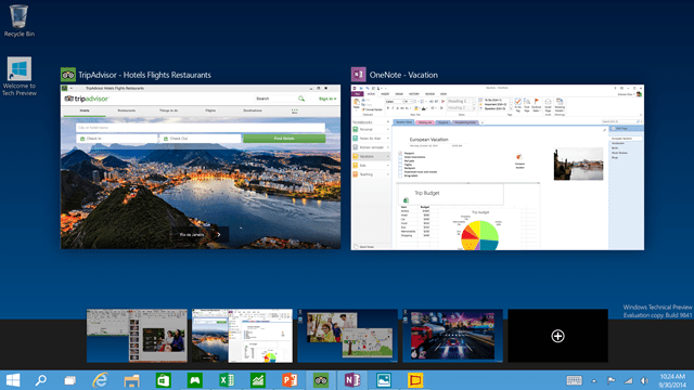 Windows 10 : Virtual Desktop