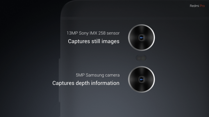 Redmi Pro Dual Camera