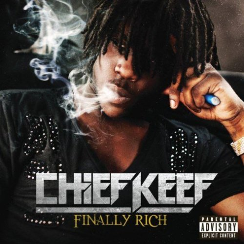 pochette d'album de Chief Keef Finally Rich