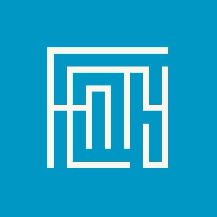 Fenty logo blue white rihanna l'atlas