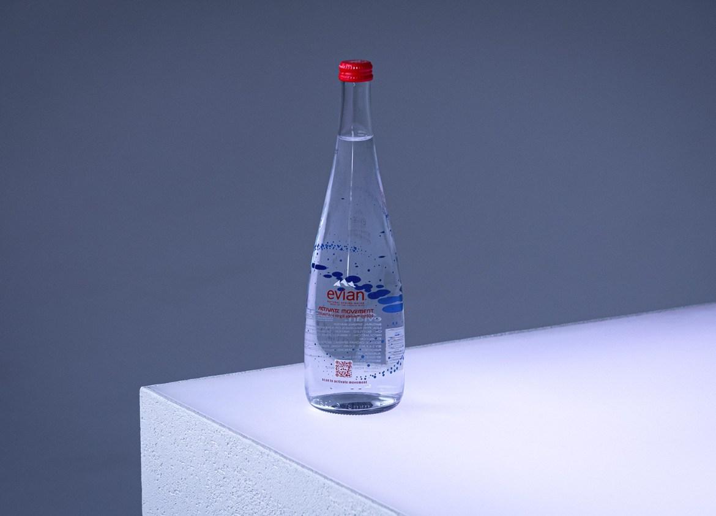 Evian Virgil Abloh bottle bouteille 2020