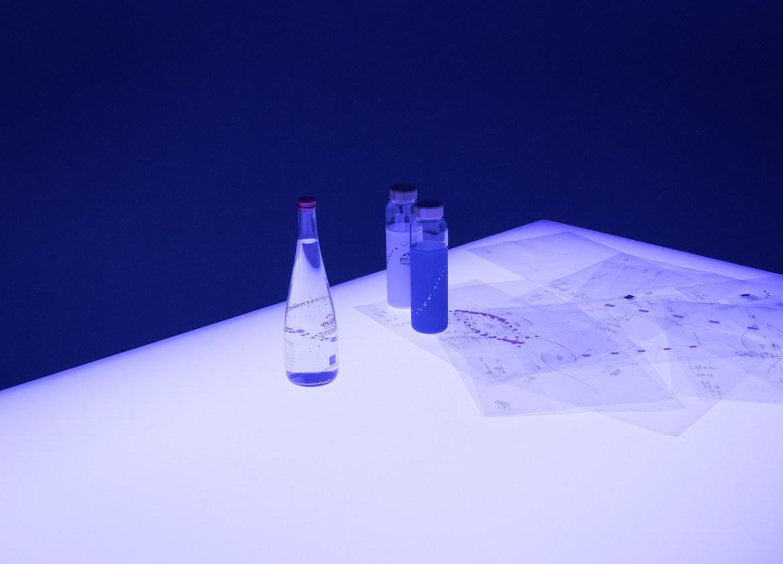 Evian Virgil Abloh 2020 bottles bouteille