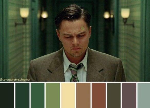 Color Palette Cinema Shutter Island